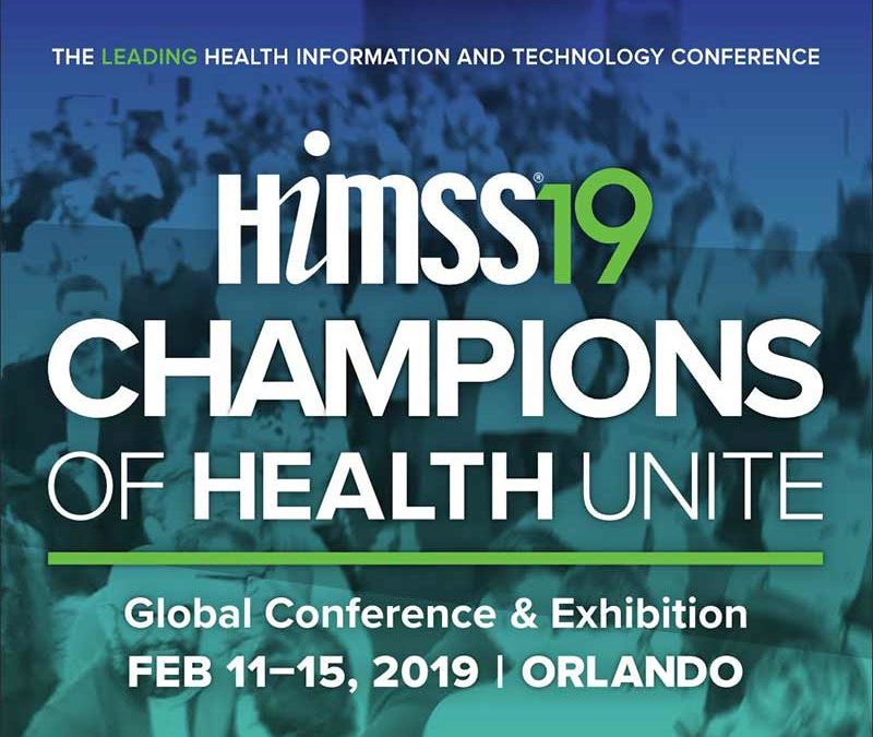 Lark Security is Attending HIMMSS 2019 in Orlando,FL