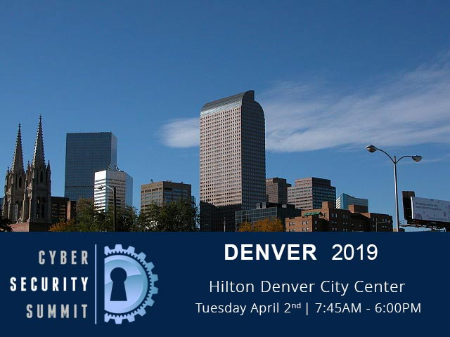 Denver Cyber Security Summit and Cigar Reception